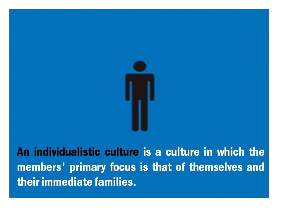 individualistic culture definition